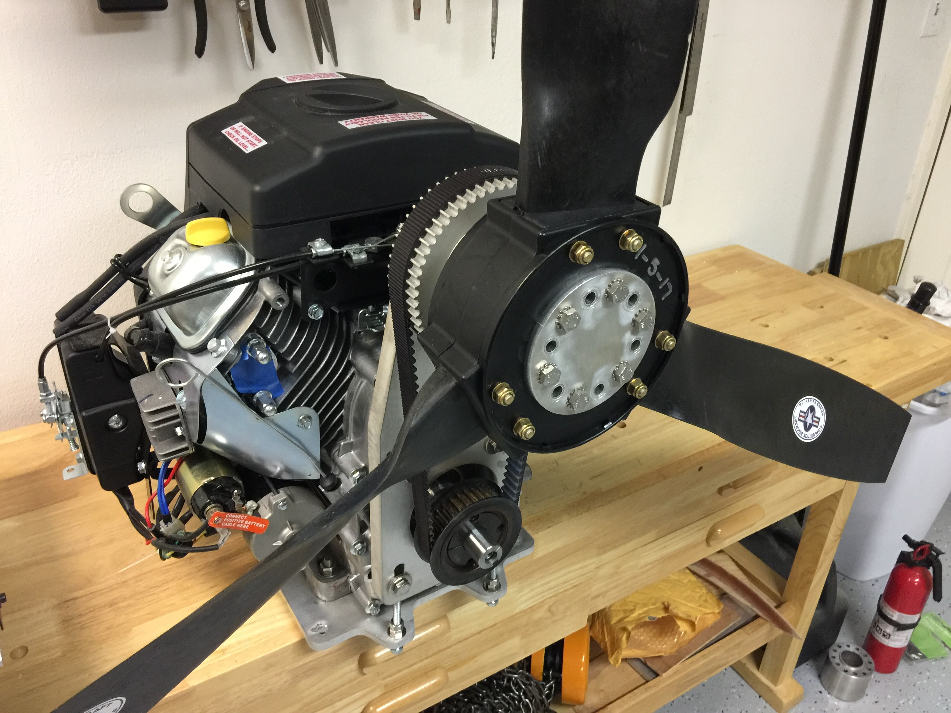 Img on 4 Stroke Ultralight Aircraft Engines