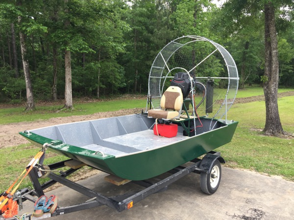 Rascal Mini Airboat