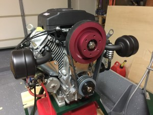 Predator 22 belt reduction drive