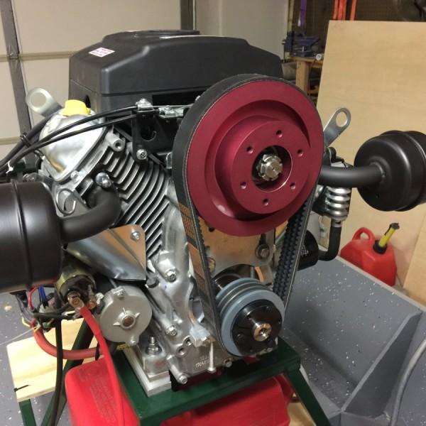 Predator 22 belt reduction drive